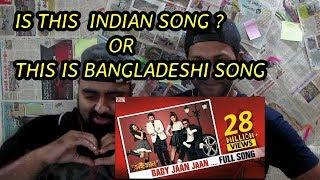 Baby Jaan song reaction | Bhaijaan Elo Re | Shakib Khan | Srabanti | Paayel