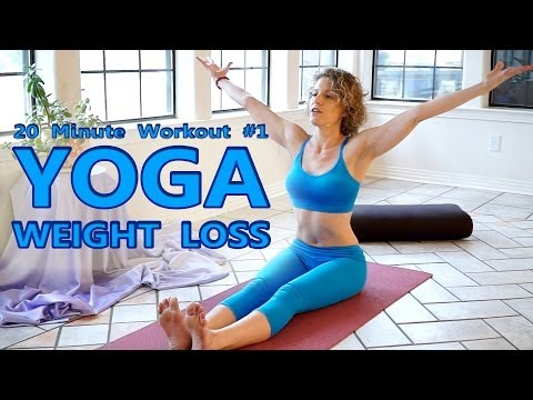 Xxx Mp4 Yoga For Weight Loss Flexibility Day 1 Workout Fat Burning 20 Minute Beginners Class 3gp Sex