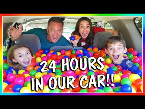 Xxx Mp4 24 HOURS OF LIVING IN OUR CAR OVERNIGHT CHALLENGE We Are The Davises 3gp Sex