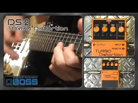 DS 2 TURBO Distortion BOSS Sound Check