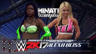 Elimination Chamber: Naomi vs. Alexa Bliss - SmackDown Women's Title Match — WWE 2K17 Match Sims