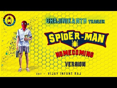 Xxx Mp4 Ghajinikanth Trailer SPIDERMAN HOMECOMING Version Vijay Infant Raj Tom Holland Arya Sayyeshaa 3gp Sex