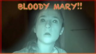 Scary Bloody Mary Makes us Freak Out - Haunted Woods