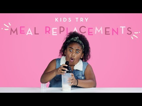 Kids Try Meal Replacements Kids Try HiHo Kids