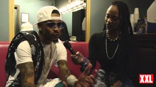 August Alsina Talks Nicki Minaj & Next Album In NYC Before Falling Off-Stage