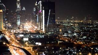 DUBAI VIEW | BURJ KHALIFA | WTC | EMIRATES | NIGHT | WONDERFUL