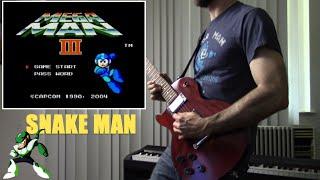 Mega Man 3 - Snake Man (Guitar Rock/Metal Cover) ft. Zarek Munoz