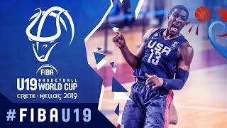Senegal v USA - Full Game - FIBA U19 Basketball World Cup 2019