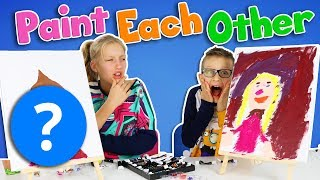 PAINT EACH OTHER CHALLENGE!!!!