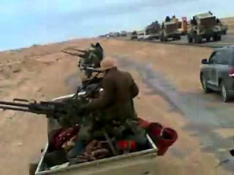 المهندس الساعدي القذافي في الكفره يوم 22 6 2012