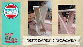 twisted table....verdrehtes Tischchen....