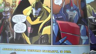 Transformers robots in disguise IDW # 2 review