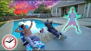 OVERNIGHT AT OUR OLD HOUSE CHALLENGE! *AMAZING*