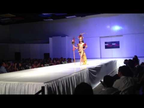 traje de Fantasía que presente en el concurso NIÑA COLOMBIA