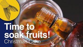 Calcutta Christmas Fruitcake: Time to Soak Fruits! | Plum Cake Mixing