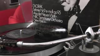 Soviet Russian Elektronika b1-01 turntable Philips GP422 Dvorak 9th symphony Toscanini 1953 Vinyl HQ