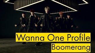 "Wanna One Profile | ""Boomerang"""