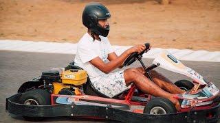 Mustafiz on Unlimited Fun in SRH Car racing challenge