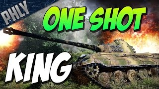 War Thunder - ONE SHOT KING TIGER! BEAST GAME!