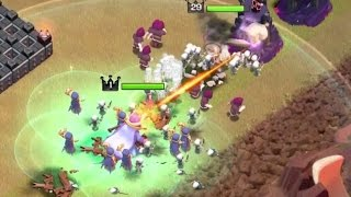 GRAND WARDEN + MAX WITCHES 3 STARS ATTACK | Clash Of Clans | ''New Update'' TH11, Eagle Artillery!!