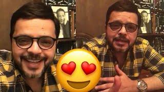 النجم الكوميدي محمد هنيدي يرد على أسئلة الجمهور بفيديو بث مباشر لأول مرة