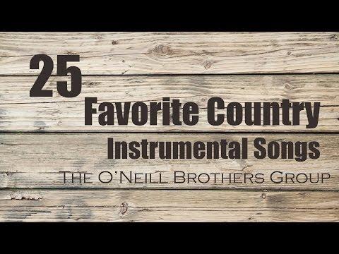 25 Favorite Country Instrumental Songs