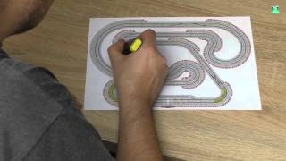 Carrera Rennbahn Tagebuch - #1 -  Neuer Streckenplan