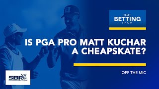 PGA Tour Pro Pays Caddie $5k After Winning $1.296 Million | That Betting Show Clip | Feb 14th