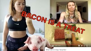 Tanya Burr - What I Eat In A Day | My response