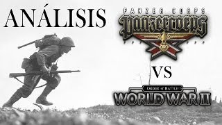Análisis comparativo   Panzer Corps vs Order of battle