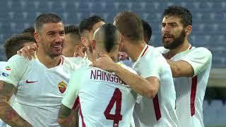 Il gol di Manolas - Fiorentina - Roma 2-4 - Giornata 12 - Serie A TIM 2017/18