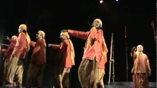 A chorus song from Nandikar's Bengali drama Madhabi.