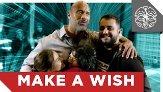 The Rock's Make a Wish Surprise