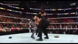 WWE Extremes Rules 2016- Seth Rollins RETURN.