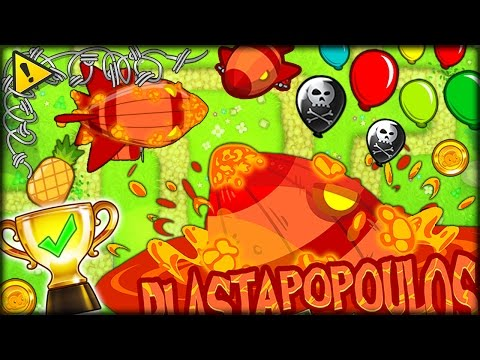 DEFEATING THE HARDEST BOSS IN BLOONS TD 5 BLASTAPOPOULOS STRATEGY Bloons Tower Defense 5 COOP