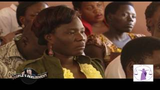 People's Parliament: Sexual violence in Northern Uganda