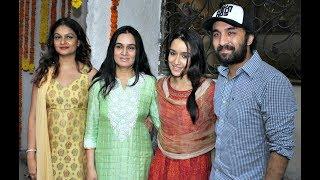 Shraddha Kapoor Celebrates Ganesh Chaturthi With Family | Bollywood Insight