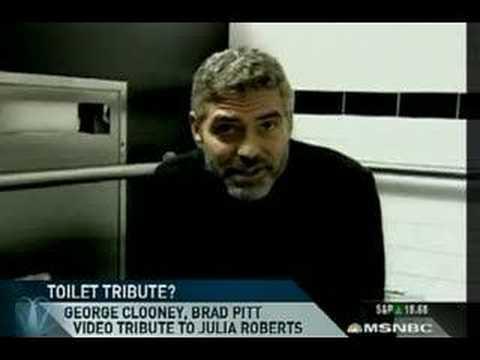 Xxx Mp4 George Clooney Brad Pitt Toilet Tribute To Julia Roberts 3gp Sex