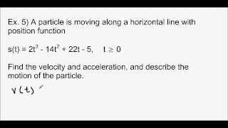 Calculus - 4.3 Connecting f' and f
