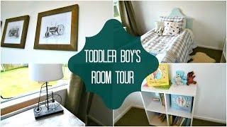 TODDLER BOY'S ROOM TOUR | Christine Keys