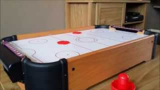 My Mini Air Hockey Table Game (in great detail and HD)