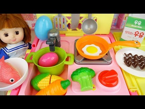 Xxx Mp4 Baby Doll Kitchen Food Cooking Surprise Egg Play Baby Doli House 3gp Sex