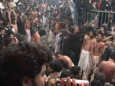 10 Moharram 2009 Nisar Hawelli Zuljinah Lahore Part 1