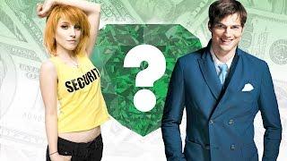 WHO'S RICHER? - Hayley Williams or Ashton Kutcher? - Net Worth Revealed!
