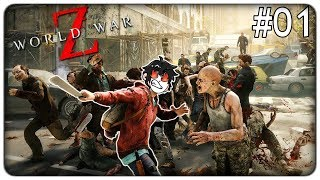 THELONEGAMER VS 10.000 ZOMBIE | World War Z - ep. 01