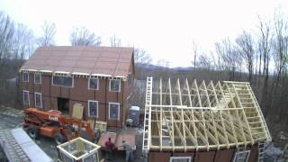 Yankee Barn Homes - Time Lapse House Construction