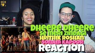 Dheere Dheere Se Meri Zindagi (Hrithik Roshan   Sonam Kapoor   Yo Yo Honey Singh) Reaction