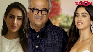Boney Kapoor wants Janhvi Kapoor to follow Sara Ali Khan