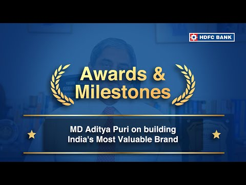 Aditya Puri, MD HDFC Bank, on building India's Most Valuable Brand.