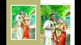 VINEETH +NEETHU HINDU WEDDING HIGHLIGHTS.